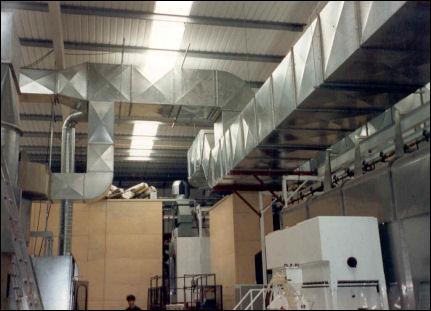 вентиляция производства, вентиляция цеха